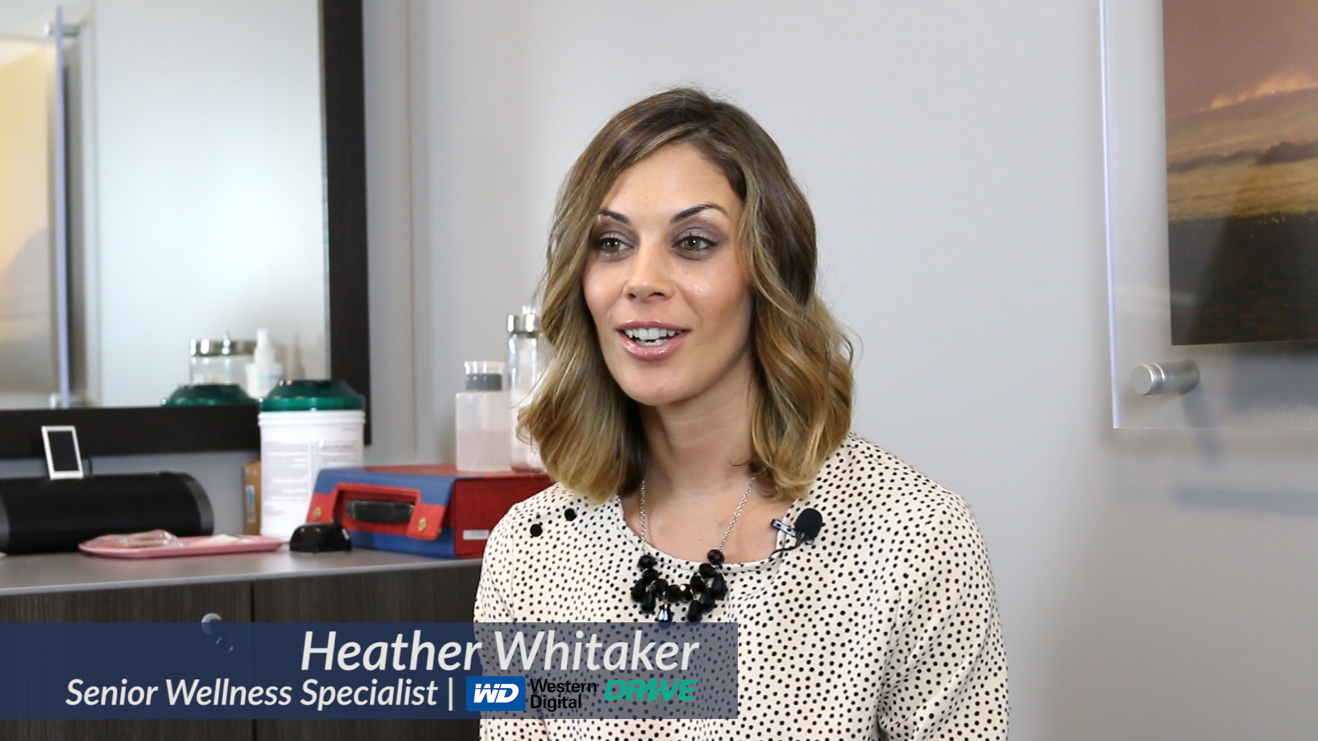 Heather Whitaker, the senior wellness specialist