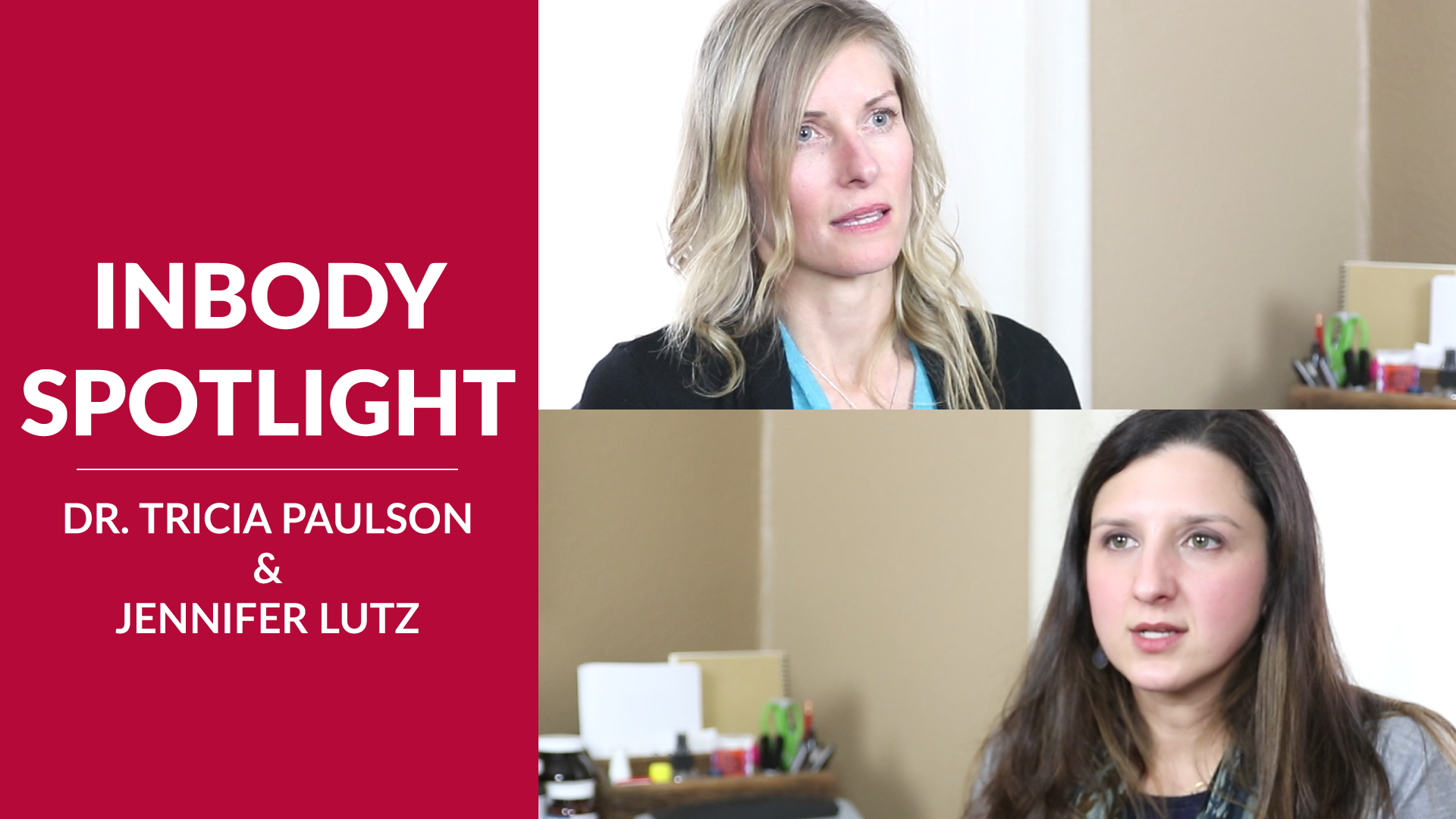 inbody spotlight video thumbnail dr. tricia paulson and jennifer lutz