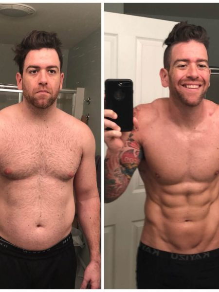 jj roth before and after body composition transformation story
