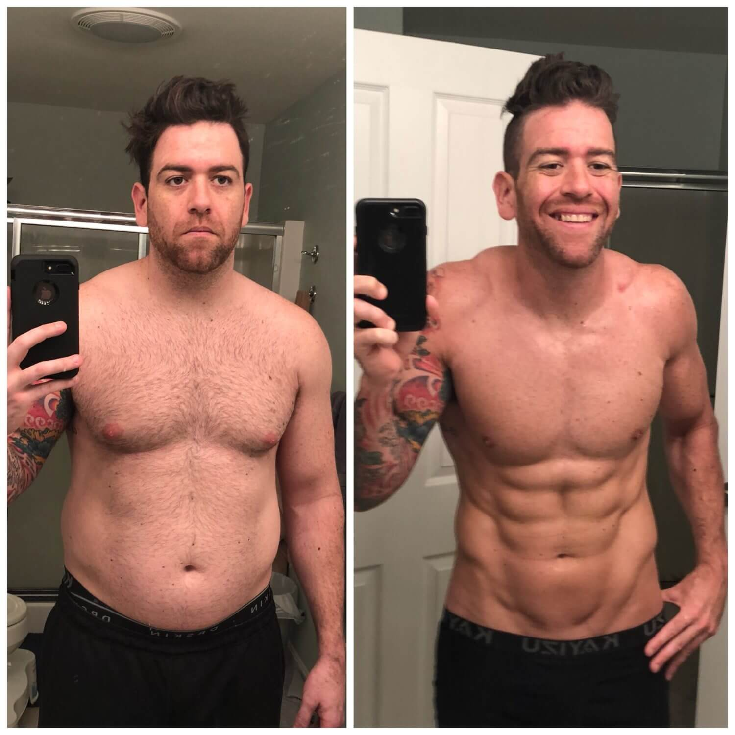 """Let's take this next step and better me for no one else. Only me."" – My Body Composition Transformation Story"