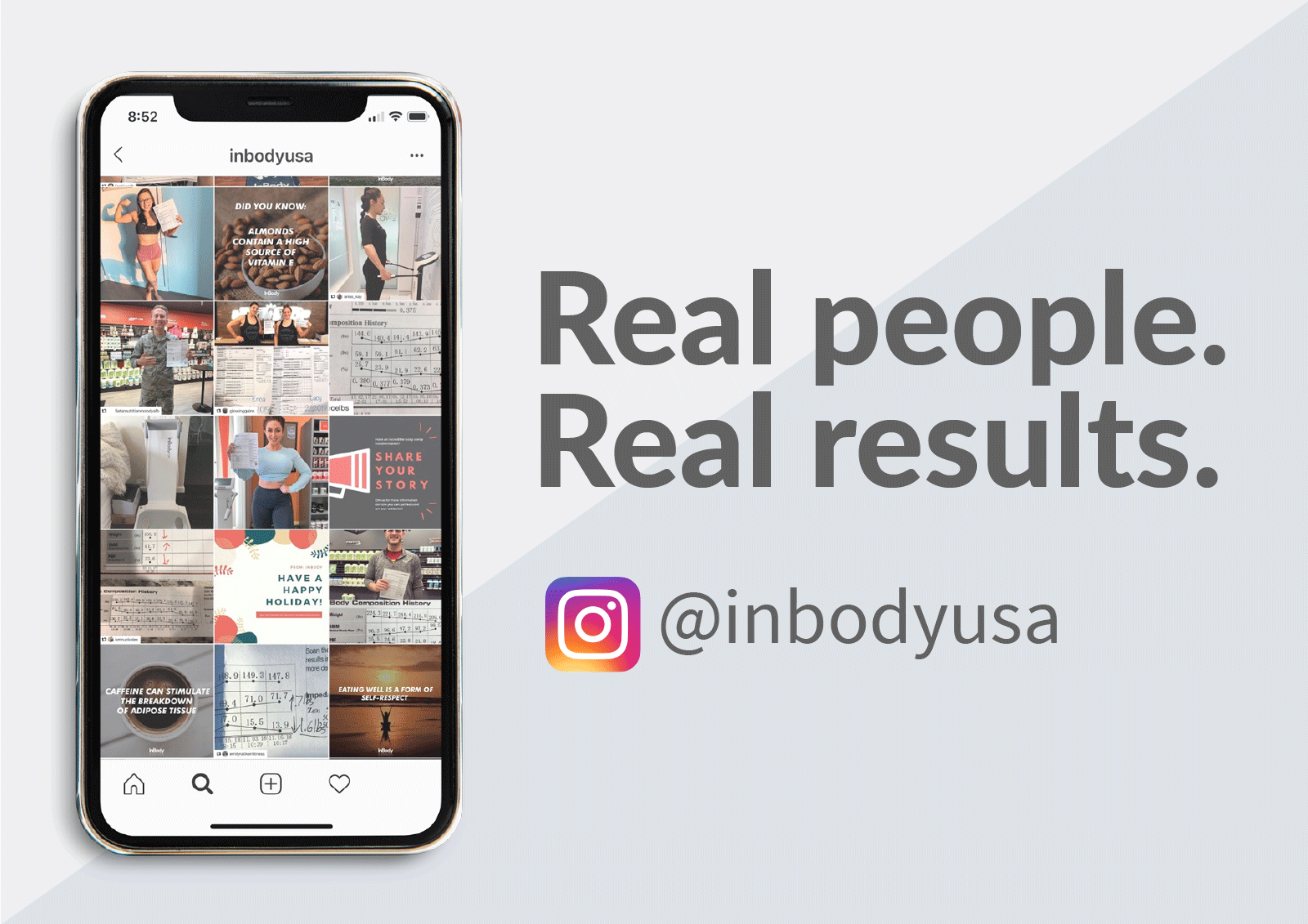 Real people. Real results. instagram.com/inbodyusa